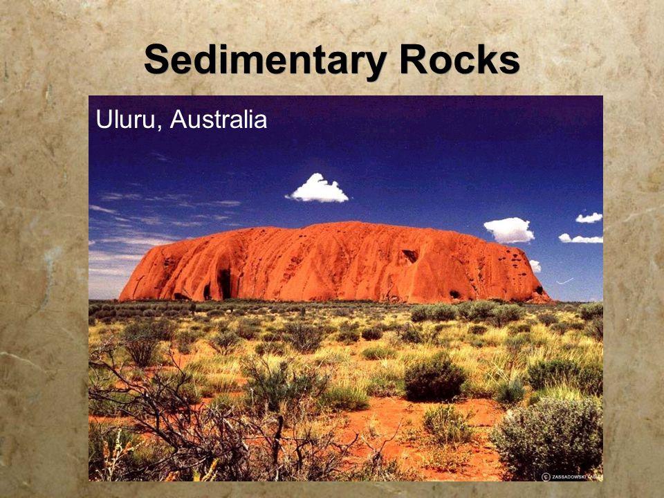 Sedimentary Rocks Uluru, Australia