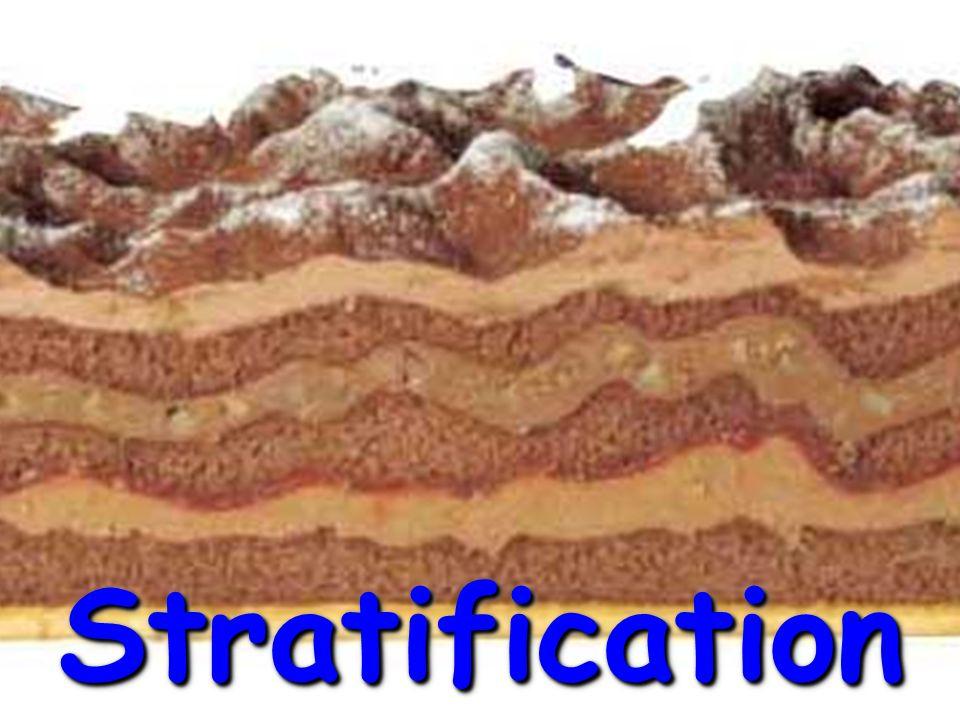 StratificationStratification