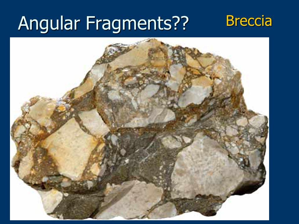 Angular Fragments Breccia