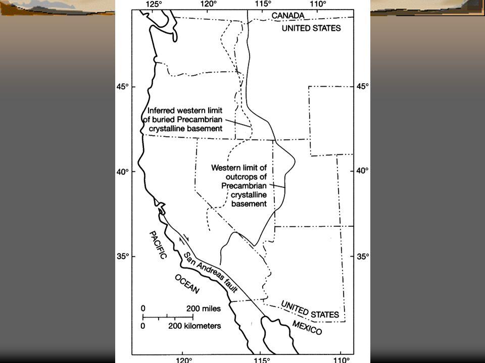 SUMMARY  Accreted terranes  Nevadan orogeny  Farallon plate  San Andreas Fault  Present uplift