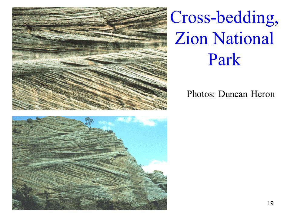 19 Cross-bedding, Zion National Park Photos: Duncan Heron
