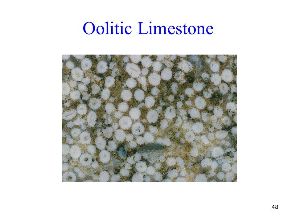 48 Oolitic Limestone