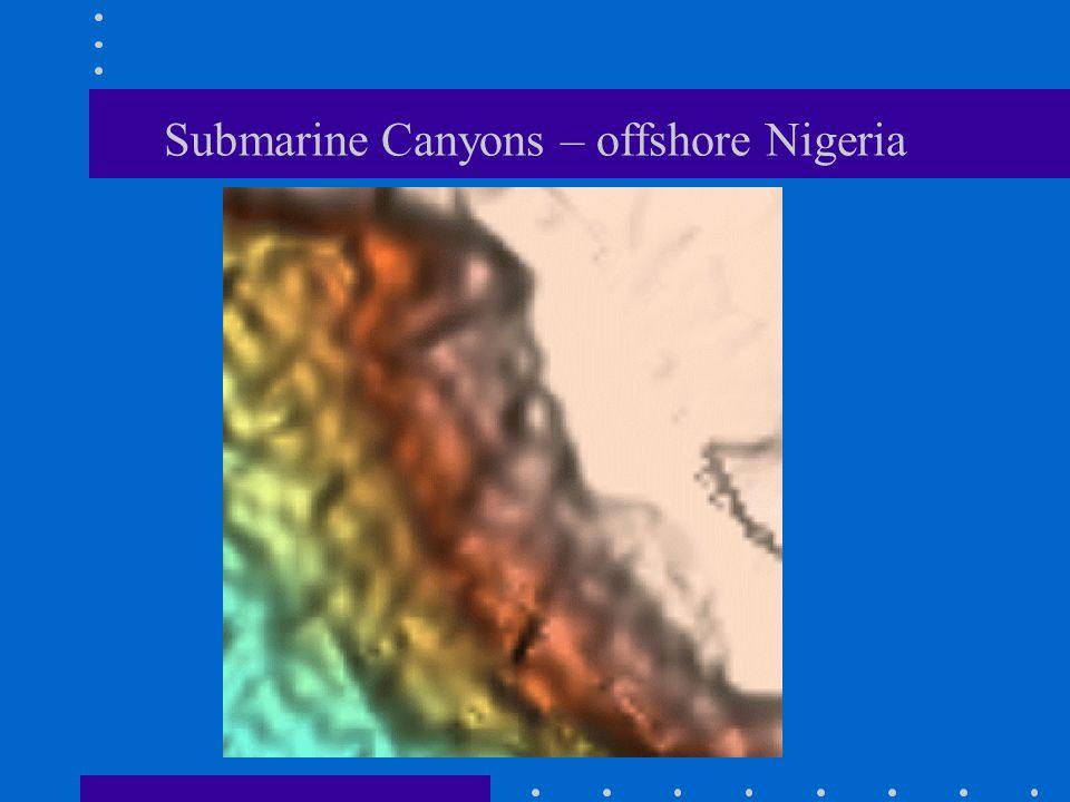 Submarine Canyons – offshore Nigeria