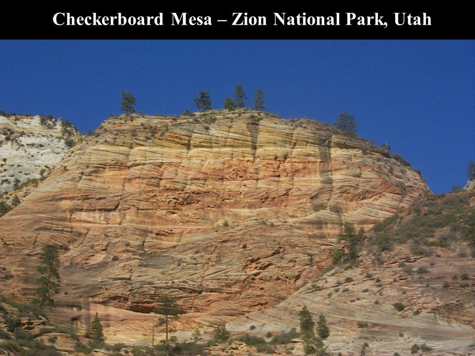 Checkerboard Mesa – Zion National Park, Utah