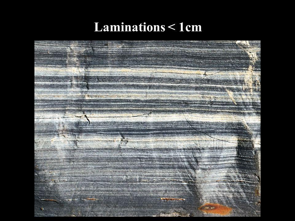 Laminations < 1cm