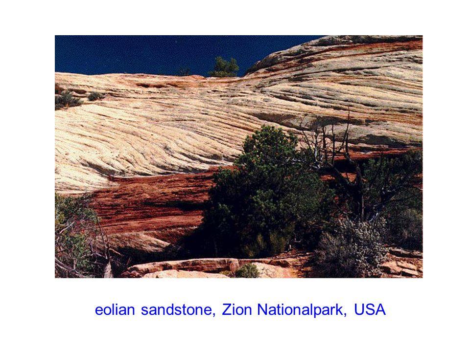 eolian sediments, Zion Nationalpark, USA