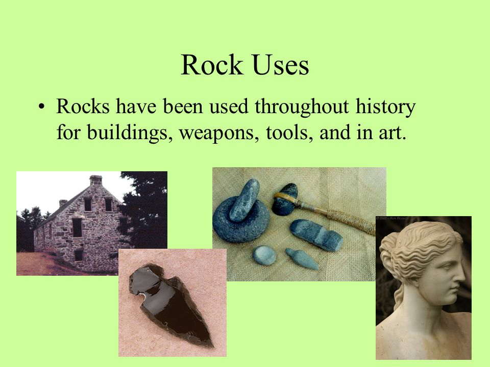 Types of Rocks There are three main categories of rocks –Igneous –Sedimentary –Metamorphic