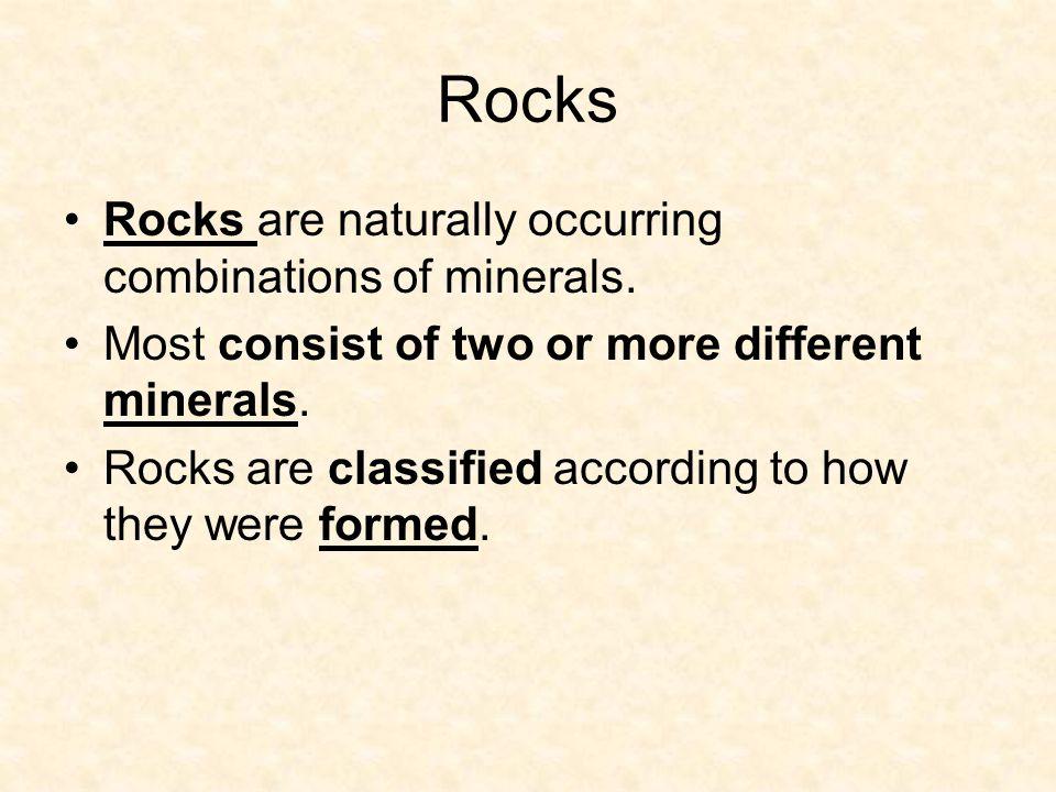 Metamorphic Rocks Metamorphic rocks form underneath the Earth's Surface.