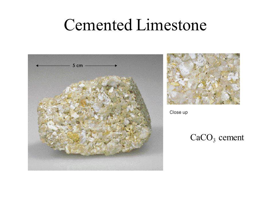 Cemented Limestone CaCO 3 cement