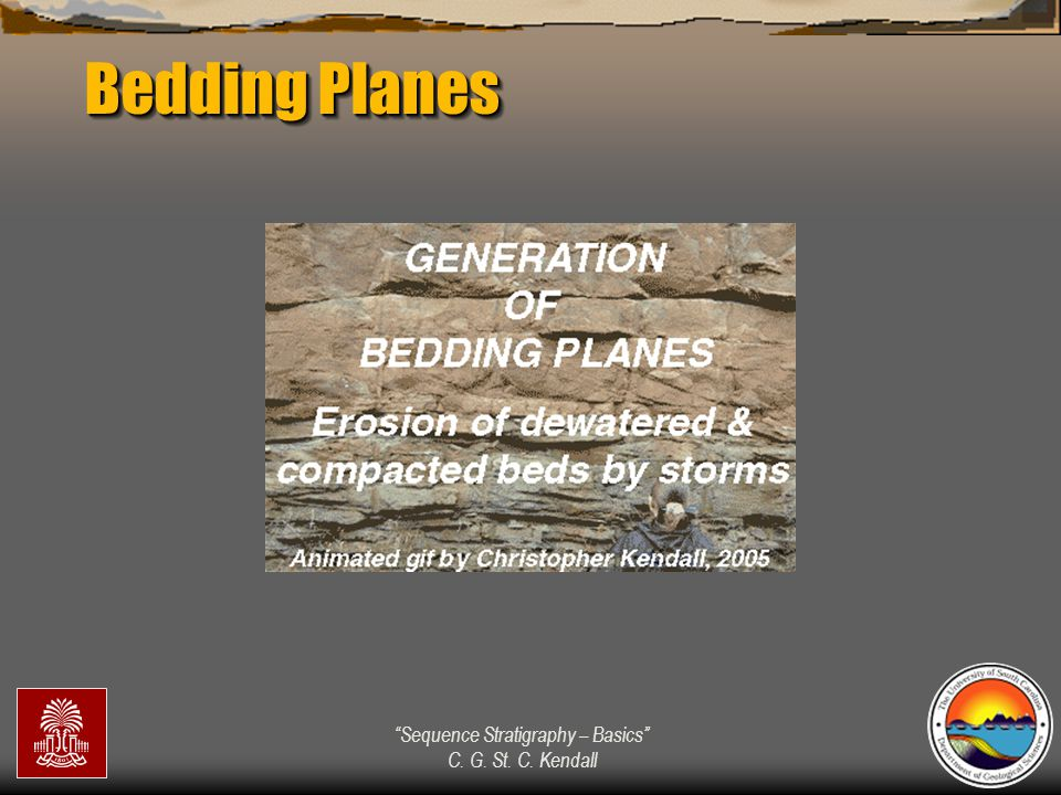 """""""Sequence Stratigraphy – Basics"""" C. G. St. C. Kendall Bedding Planes"""