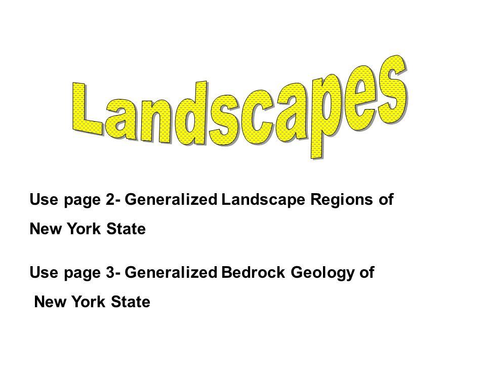 7.Allegheny Plateau Devonian Sedimentary Limestones, shales, sandstones, conglomerates.