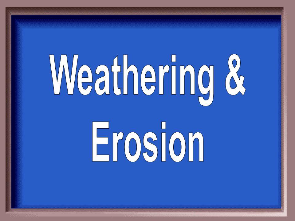 b. erosion