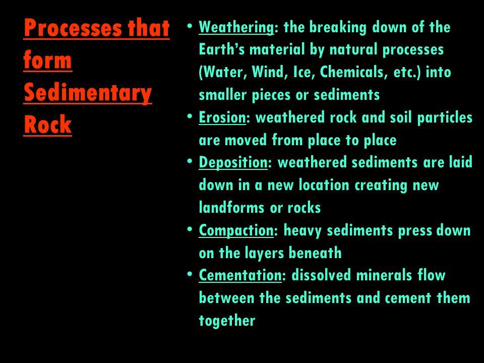 Igneous Metamorphic Sedimentary The Rock Cycle ?