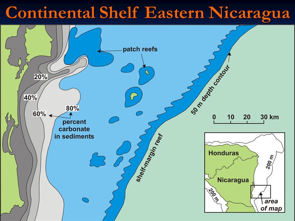 Continental Shelf Eastern Nicaragua
