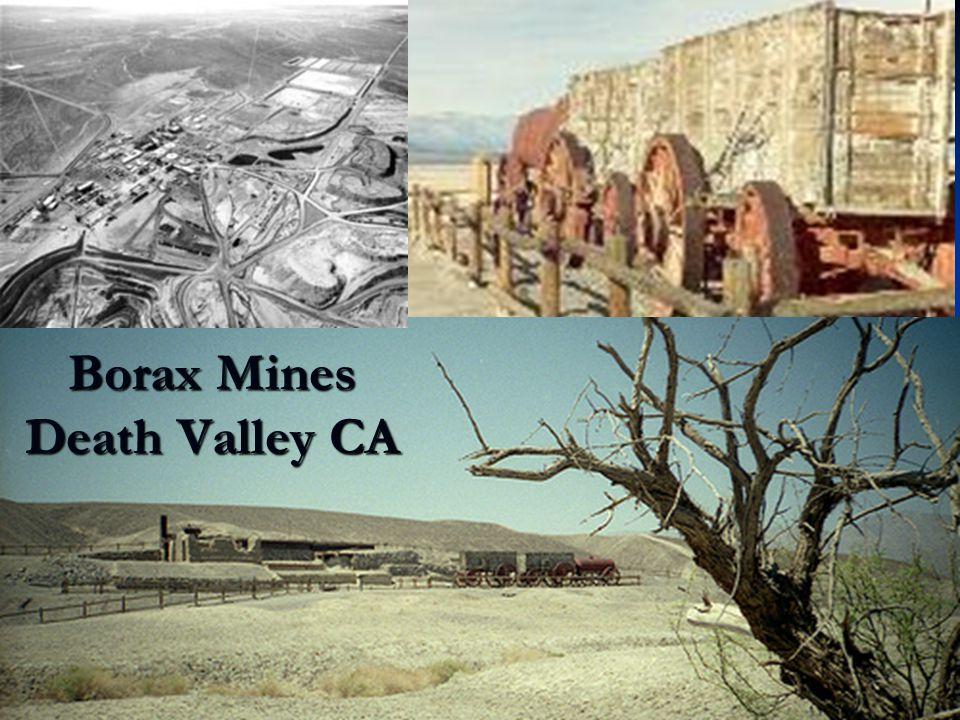 Borax Mines Death Valley CA