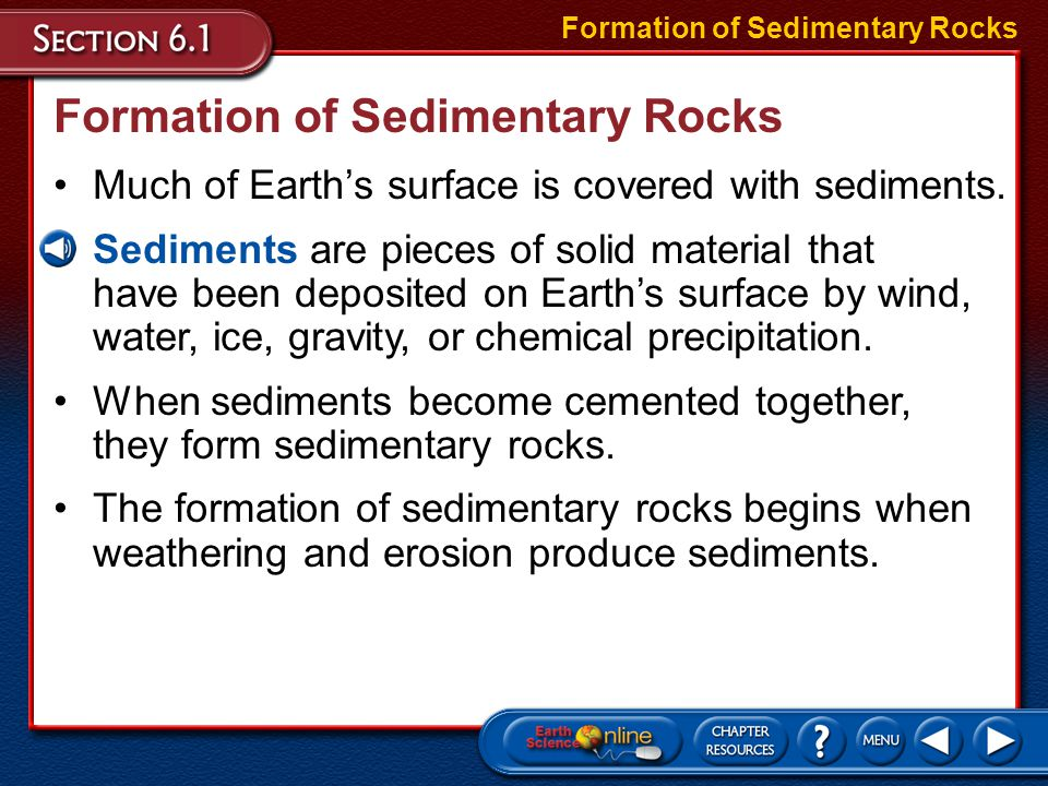 Lithification There are two common types of cementation.