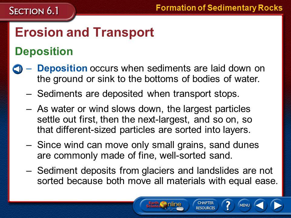 Section Assessment Types of Sedimentary Rocks 2.The following are which type of sedimentary rock.