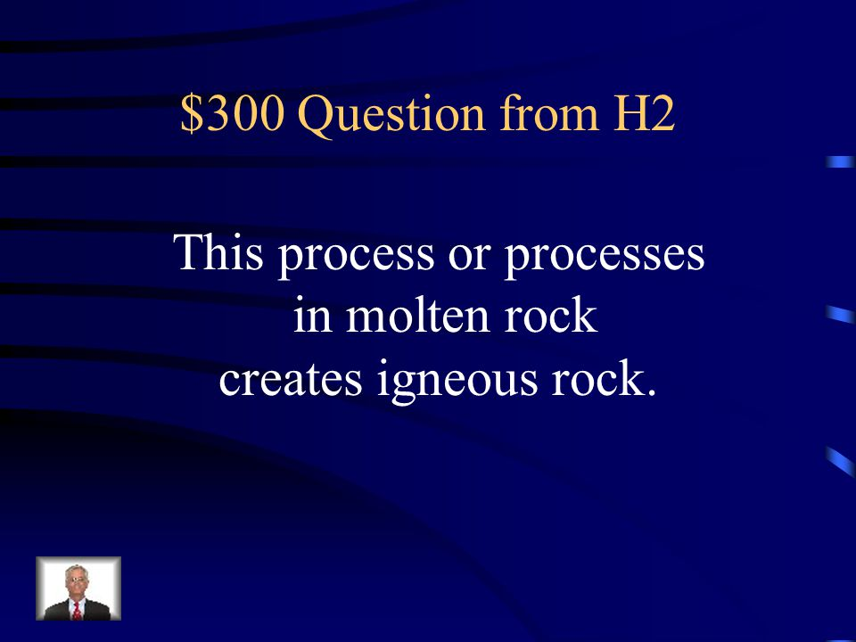 $200 Answer from H2 What is lava