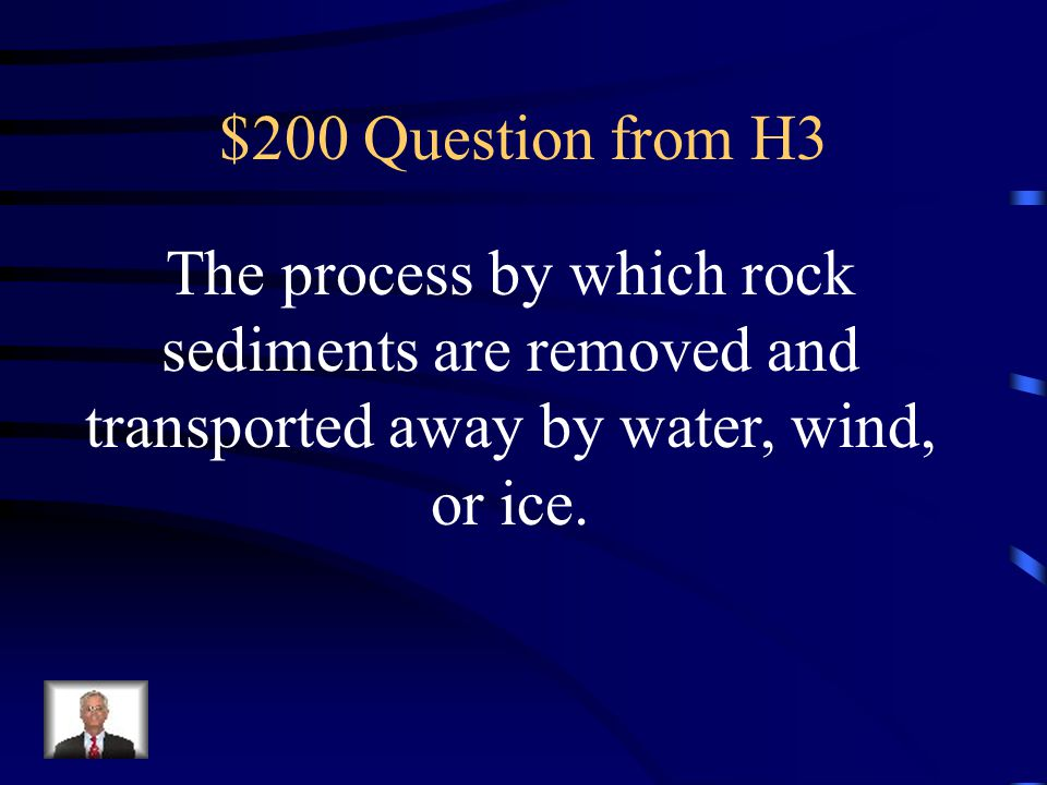 $100 Answer from H3 What are sediments