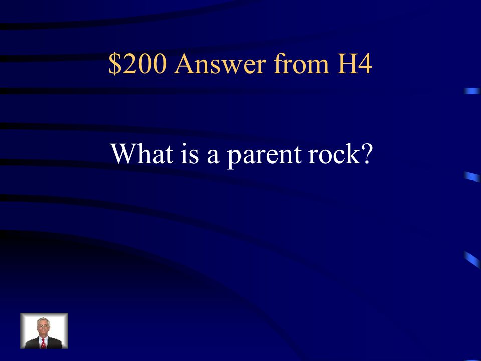 $200 Question from H4 Each metamorphic rock has one of these.
