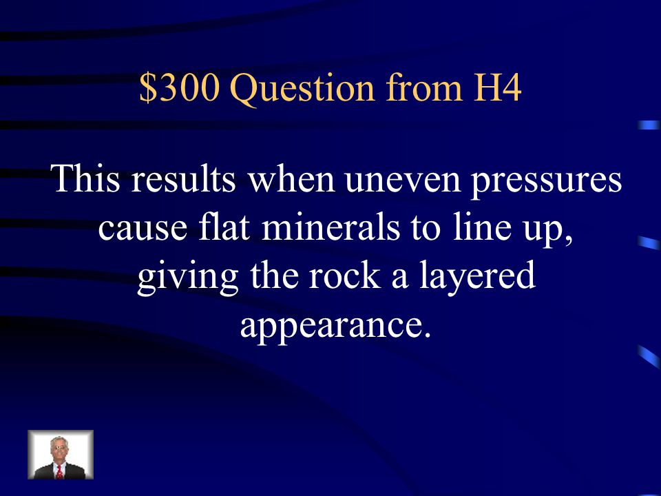 $200 Answer from H4 What is a parent rock?