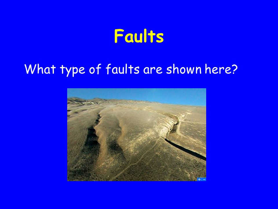 Faults What type of faults are shown here