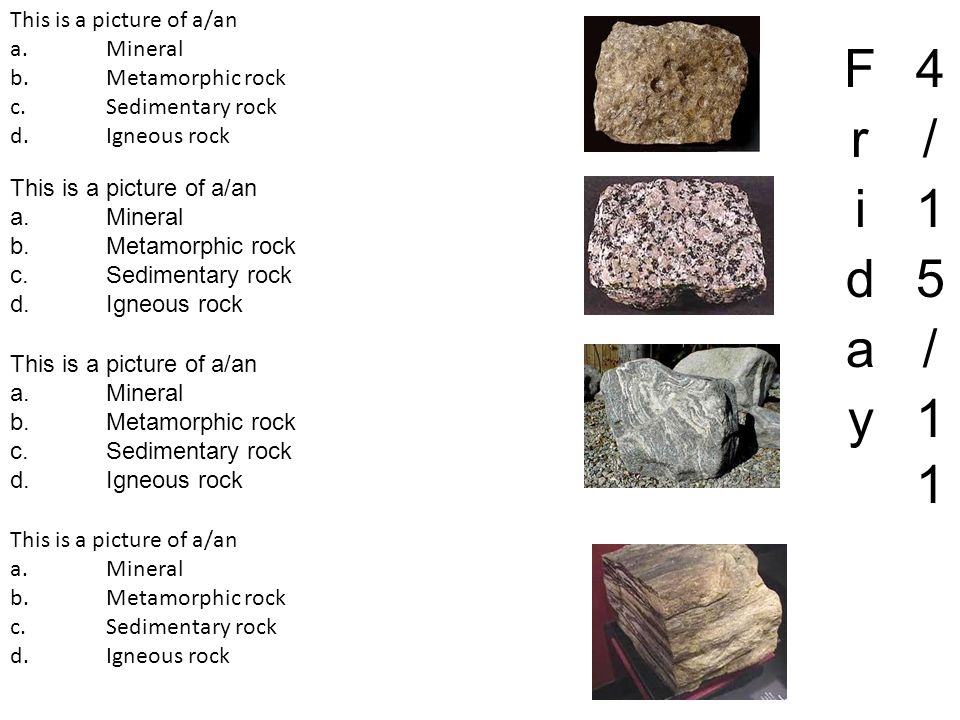 True or False: metamorphic rocks appear to have folds due to erosion by moving water a.True b.False True or False: metamorphic rocks appear to have folds due to pressure forces a.True b.False True or False: metamorphic rocks appear to have folds due to volcanic activity a.True b.False True or False: metamorphic rocks appear to have folds due to stretching forces a.True b.False