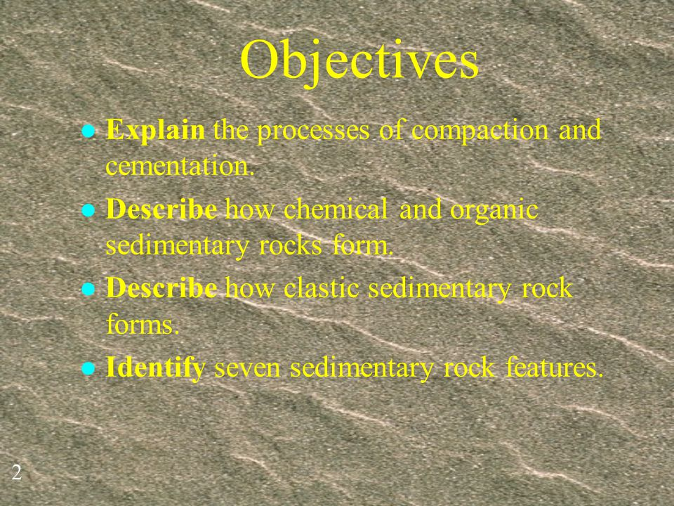 12 Evaporites Dissolved minerals can be left behind when water evaporates.