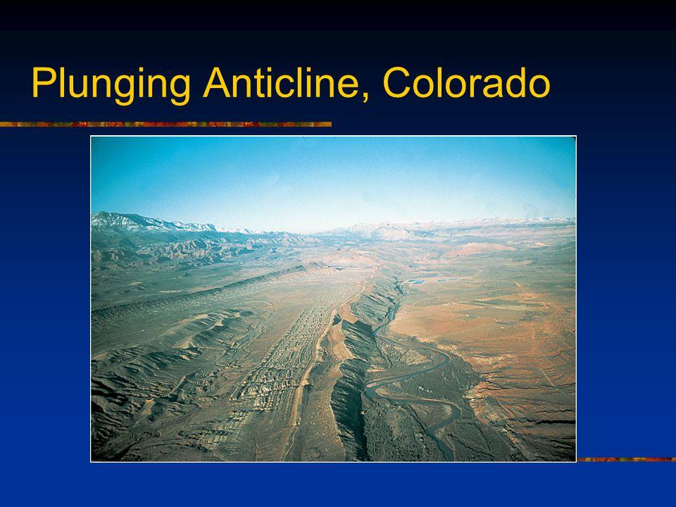 Plunging Anticline, Colorado