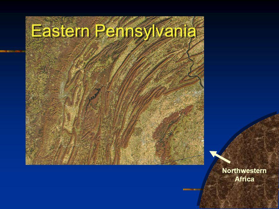 Eastern Pennsylvania Northwestern Africa