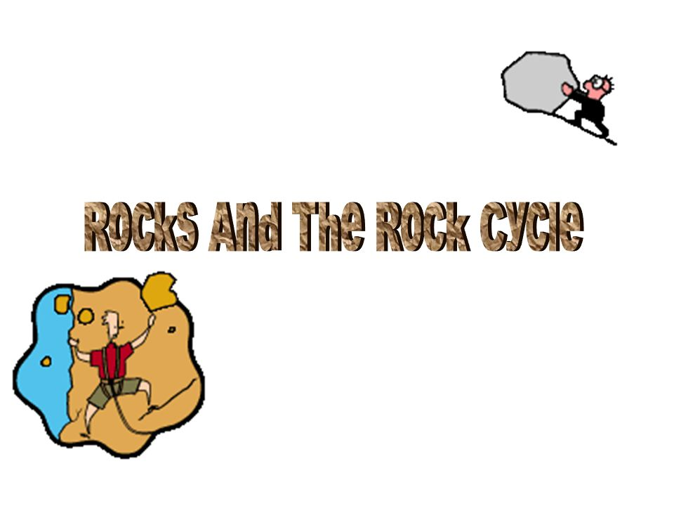 15.In what ways are the two rocks different.