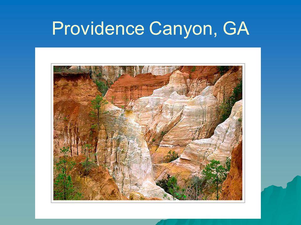 Providence Canyon, GA