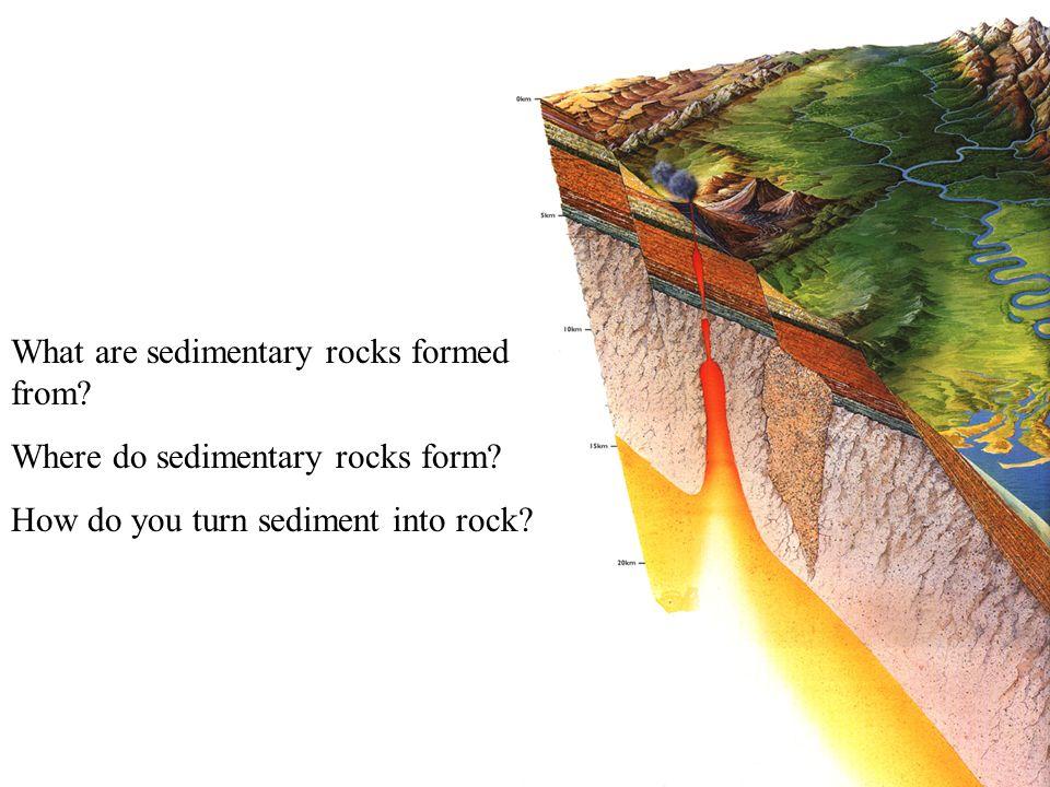 Rocks B. Sedimentary Rocks