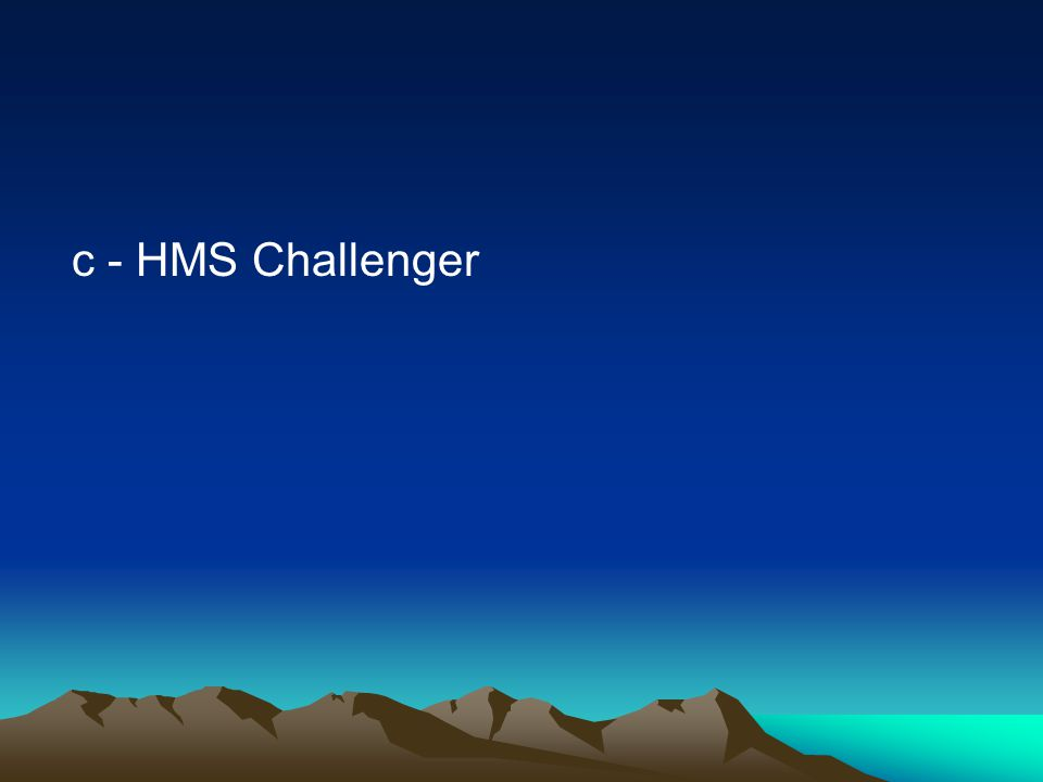 c - HMS Challenger