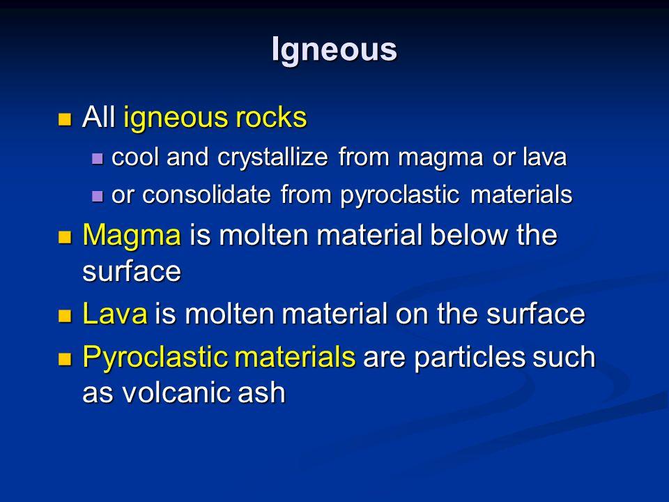 Volcanic Deposits http://volcanoes.usgs.gov/Products/Pglossary/basalt.html