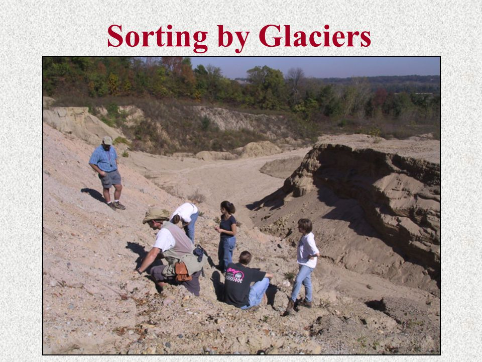 Sorting by Glaciers