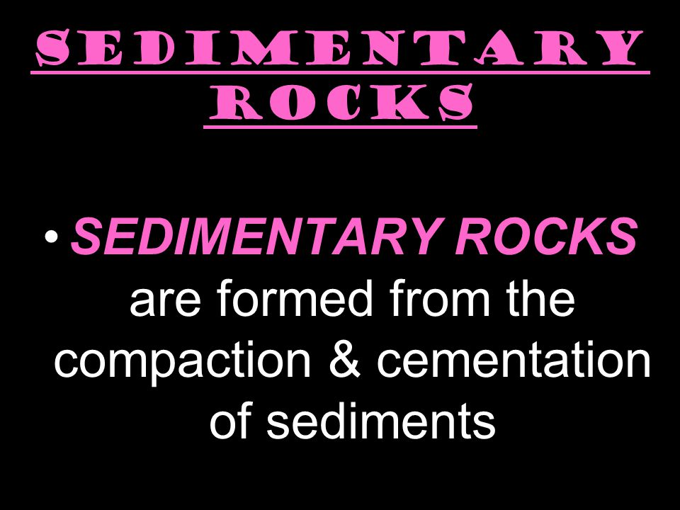 Key Question: What kinds of rocks are there?