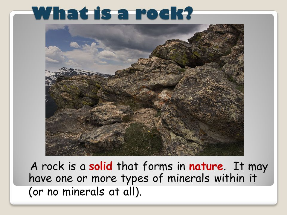 Composition and Texture: a way to identify metamorphic rock  When mineral grains line up in parallel layers, the metamorphic rock is said to have a Foliated texture.