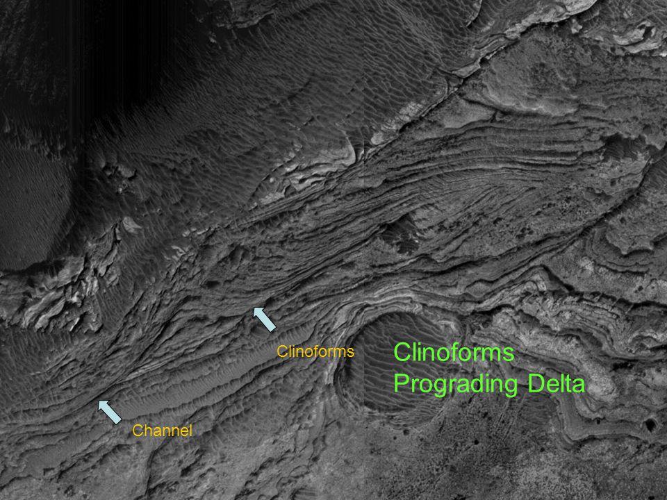 Channel Clinoforms Prograding Delta