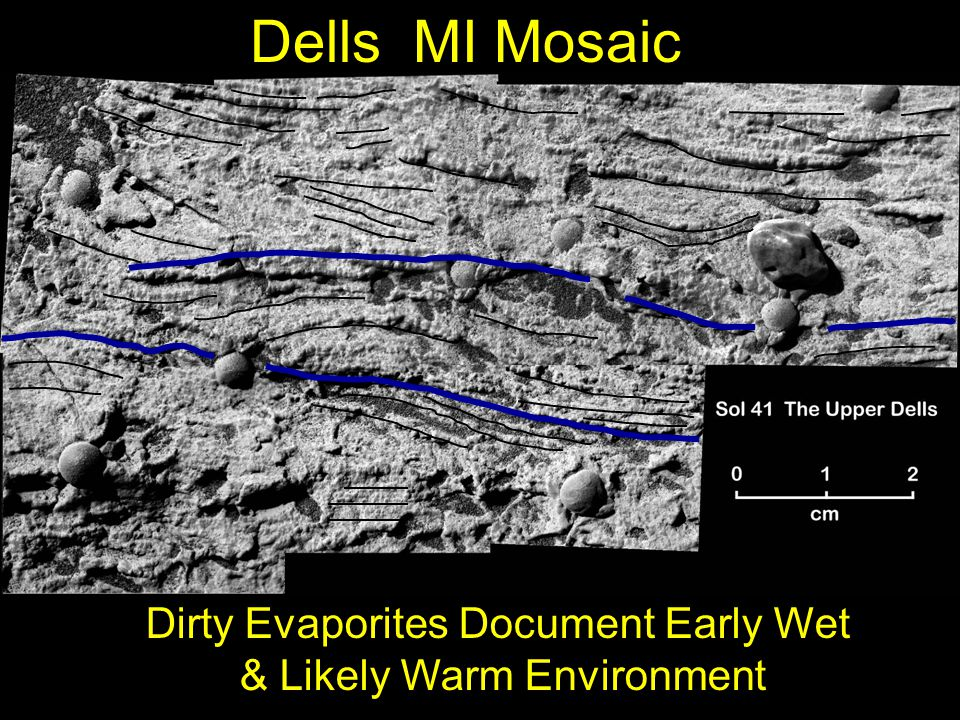 Dells MI Mosaic Dirty Evaporites Document Early Wet & Likely Warm Environment