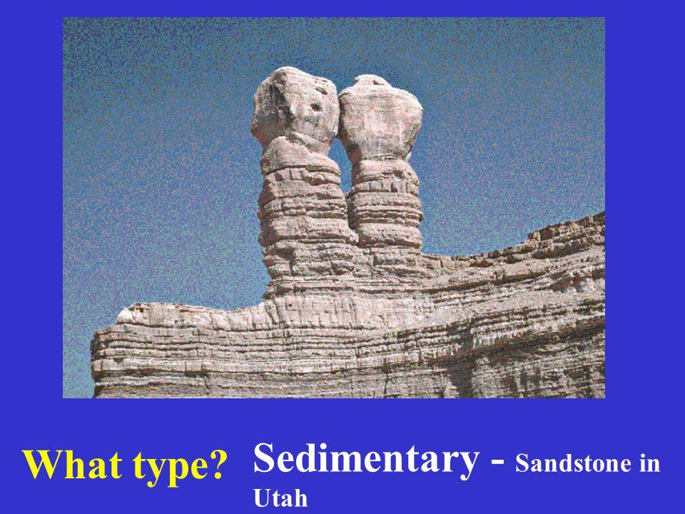 Sedimentary - Sandstone in Utah