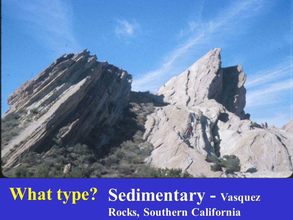 Sedimentary - Vasquez Rocks, Southern California