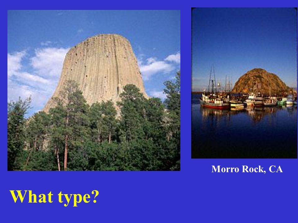 What type? Morro Rock, CA