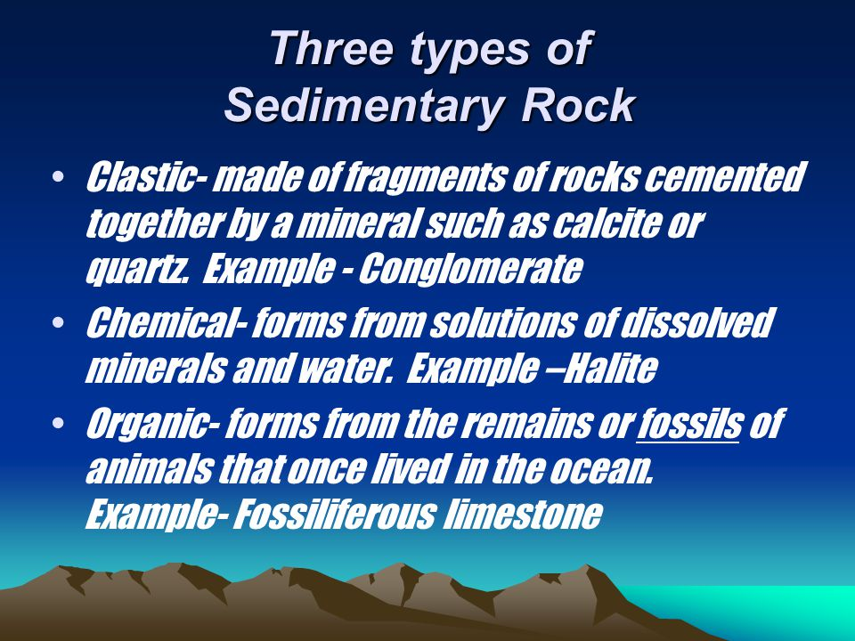 Sedimentary Rock Pics Conglomerate HaliteFossiliferous Limestone