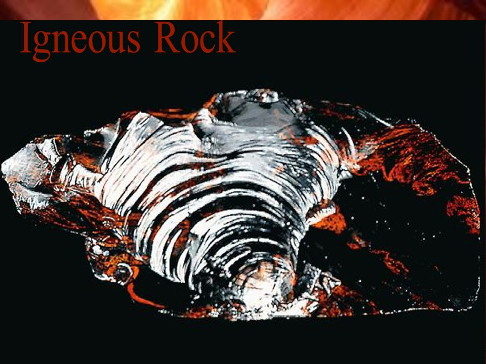 Igneous Rock Intrusive igneous rock- Rock that forms when magna cools beneath Earth's surface.