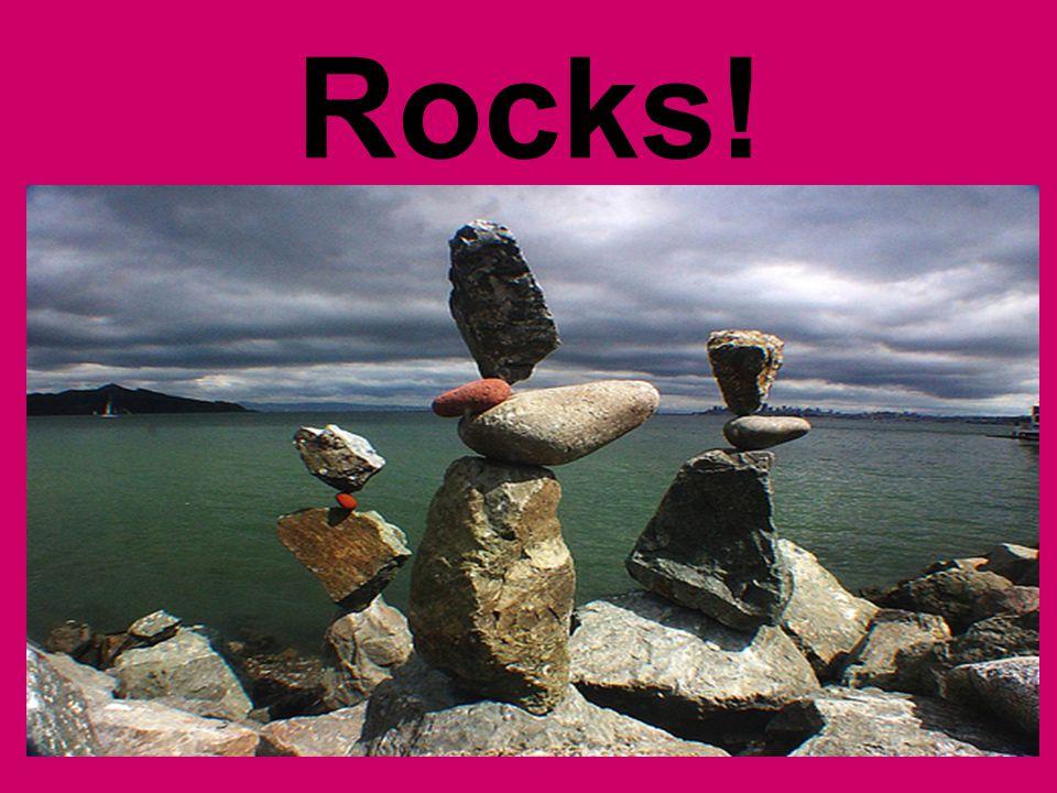 Diversity of ROCKS.