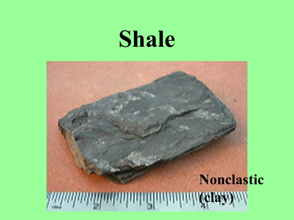 Shale Nonclastic (clay)