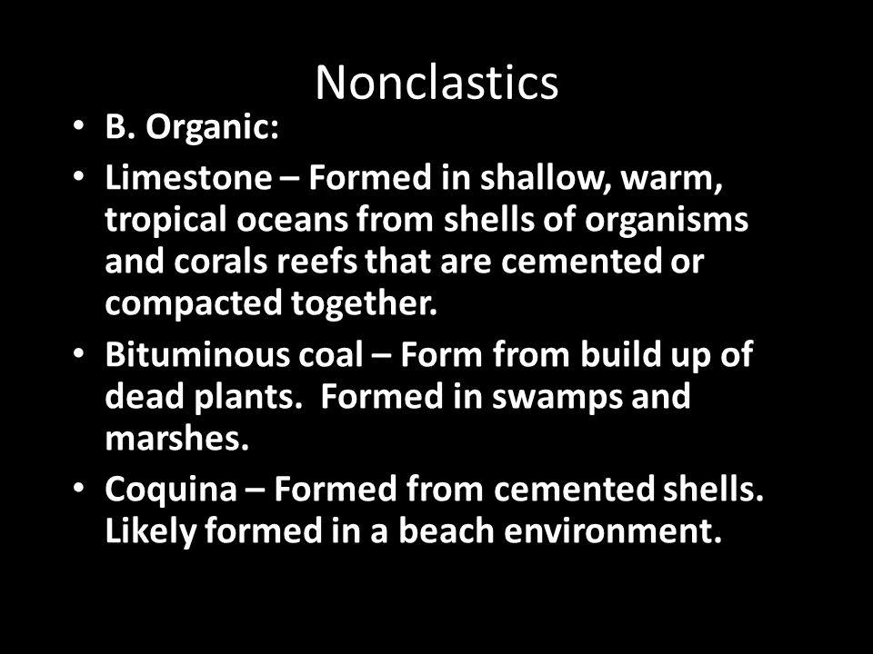 Nonclastics B.