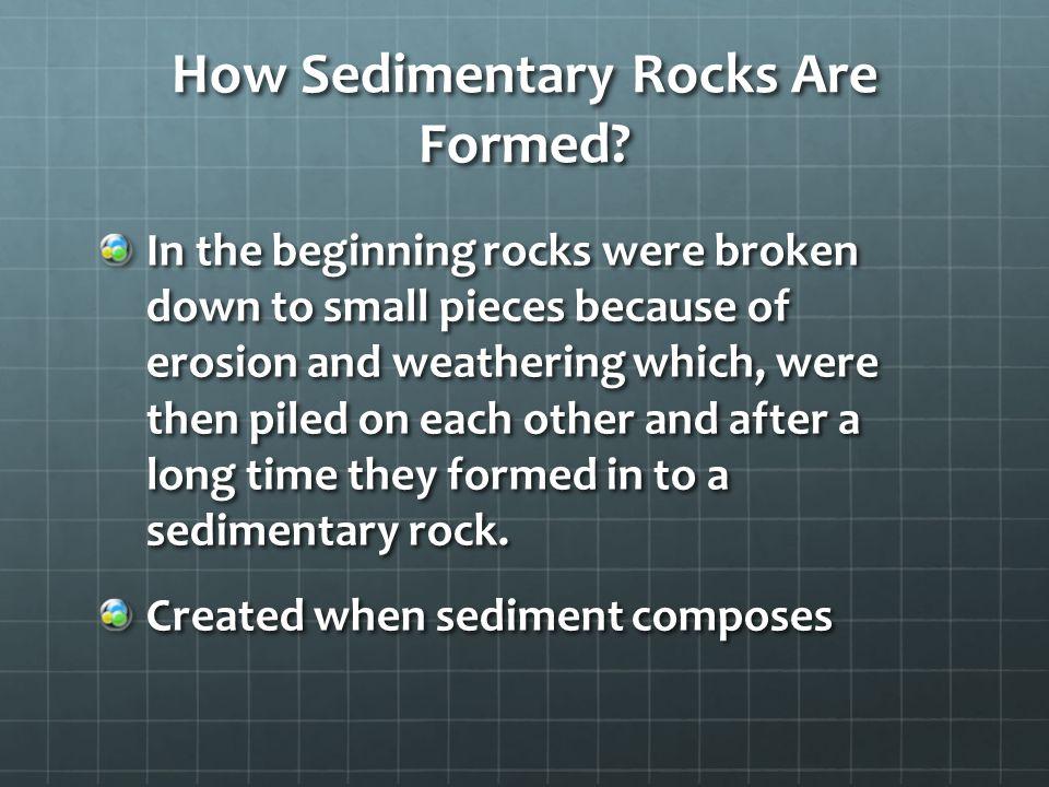 Types of Sedimentary Rocks.