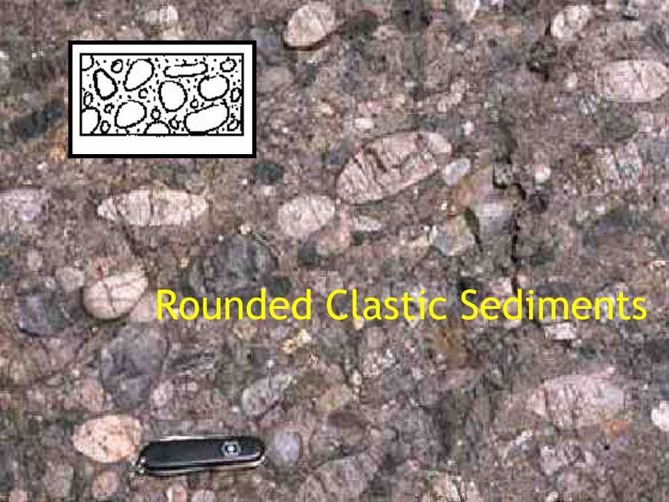 Rounded Clastic Sediments